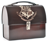 Harry Potter - Hogwarts Crest Domed Tin Tote - Lunch Box