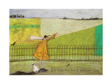 Let's Take The Bus To Somewhere New Giclee Print by Sam Toft