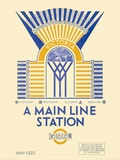 A Main Line Station Posters by  Transport for London