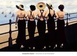 Afternoon on the Boardwalk Posters af Jacqueline Osborn