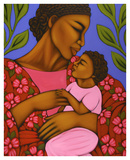 African Mother and Baby Posters by Tamara Adams