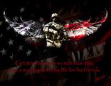 American Soldier Special Poster by Jason Bullard