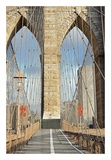 Brooklyn Bridge Poster by Alan Blaustein