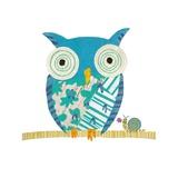 Big Owl, Little Snail Posters by Sarah Battle