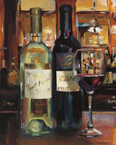 A Reflection of Wine II Posters par Marilyn Hageman