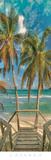 Beach Walk Poster by Doug Cavanah