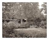 Banc de Jardin 58 Art by Alan Blaustein