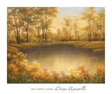 Autumn's Song Prints by Diane Romanello
