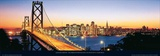 Bay Bridge with Skyline, San Francisco, CA Prints by Karalee Griffin