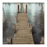 Annecy Pier Prints by Alan Blaustein