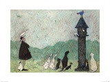 An Audience with Sweetheart Posters by Sam Toft