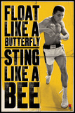 Ali – Float Like a Butterfly Kunstdruck von  Unknown