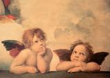 Rafaelin enkelit Julisteet tekijänä Sanzio Raffaello