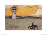 A Lovely Light Nantucket Prints by Sam Toft