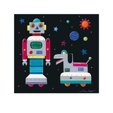 A Robot & His Dog Posters by Simon Hart