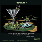 19th Hole Posters av Michael Godard