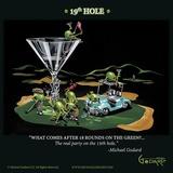 19th Hole Kunstdrucke von Michael Godard