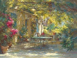 Ambiance d'Ete Posters by Johan Messely