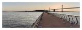 Bay Bridge Pano 106 Posters by Alan Blaustein