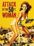 Attack of the 50 ft. Woman Prints by  Unknown