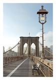 Brooklyn Bridge Print by Alan Blaustein