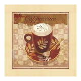 Cappuccino Prints by Linda Maron