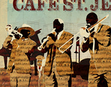 Café St. Jean Prints by Kyle Mosher