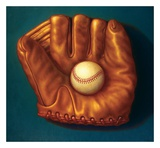 Baseball Mitt I Prints by TR Colletta