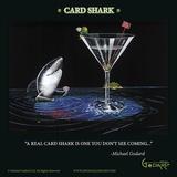 Card Shark Posters av Michael Godard
