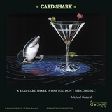 Card Shark Prints by Michael Godard