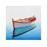 Boat in a Tranquil Bay Prints by Horacio Cardozo