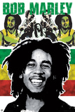 Bob Marley - Rastaman Plakaty autor Unknown