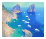 Capri II Posters by Alex Hook Krioutchkov
