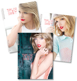 Taylor Swift Spiral Notebooks - Set of 3 Diario