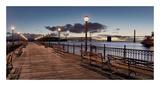Broadway Pier Pano 114 Prints by Alan Blaustein