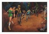 Bounce, Rock, Skate! Posters af David Garibaldi