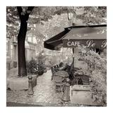 Café, Aix-en-Provence Posters by Alan Blaustein