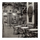 Café, Montmartre Posters by Alan Blaustein