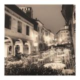 Caffè, Asolo, Veneto Posters by Alan Blaustein