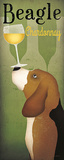 Beagle Winery Chardonnay Art by Ryan Fowler