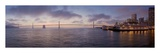 Bay Pano 119 Print by Alan Blaustein