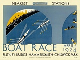 Boat Race Prints by  Transport for London