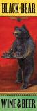 Black Bear Wine & Beer Prints by Penny Wagner
