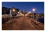 Broadway Pier 21 Prints by Alan Blaustein