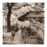 Café, Aix-en-Provence Affiches par Alan Blaustein