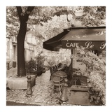 Café, Aix-en-Provence Prints by Alan Blaustein