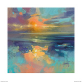 Cerulean Cyan Study Prints by Scott Naismith