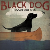 Black Dog Canoe Co. Posters by Ryan Fowler