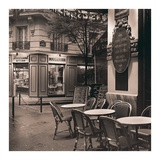 Café, Montmartre Poster by Alan Blaustein