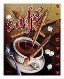 Café Pirouette Posters by Michael L. Kungl